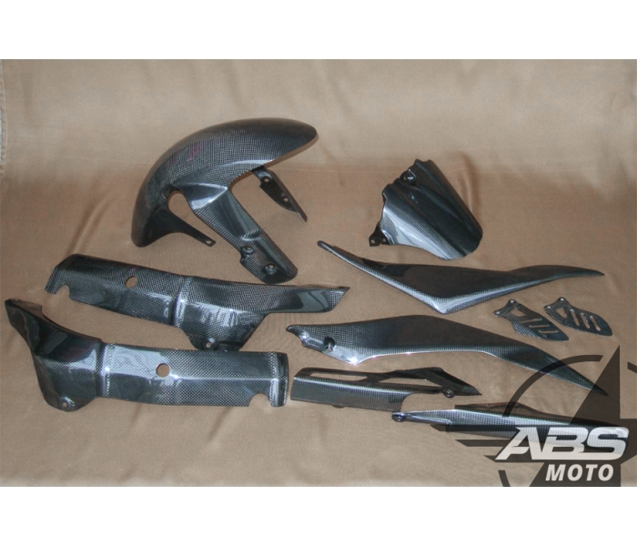 ABS Fairings 2005-06' GSX-R 1000 Carbon Fiber Accent Fairing Kit