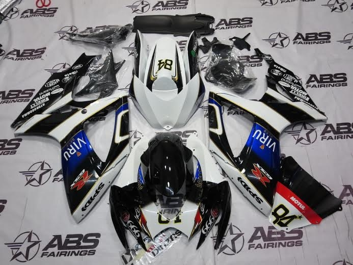 ABS Fairings Viru Edition - 06-07' GSXR 600/750