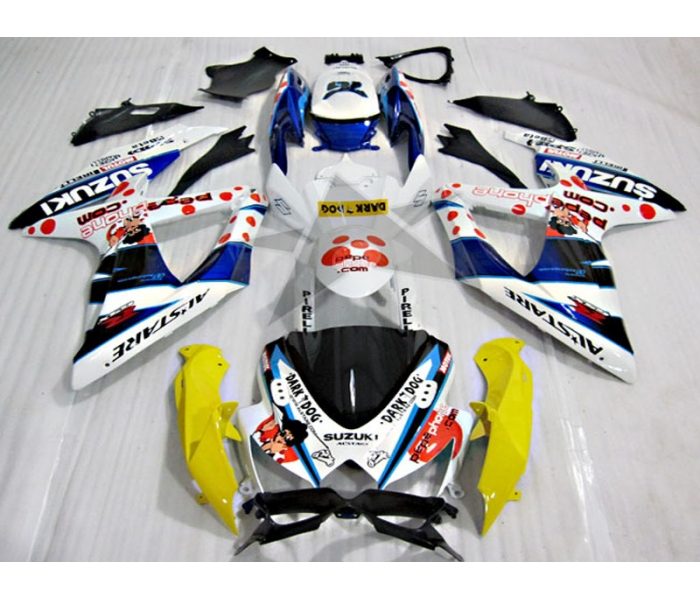 ABS Fairings PEPE Edition - 08-10' GSXR 600/750
