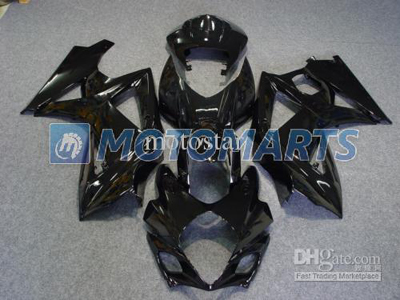 Gloss Black ABS Fairing Set K7 - Suzuki GSXR1000 2007-2008