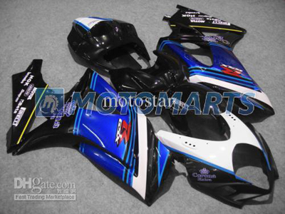 Blue/Black ABS Fairing Set K7 - Suzuki GSXR1000 2007-2008