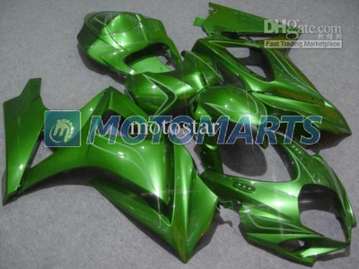 Green ABS Fairing Set K7 - Suzuki GSXR1000 2007-2008