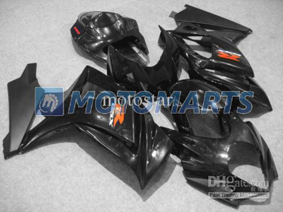 Matte/Gloss Black ABS Fairing Set K7 - Suzuki GSXR1000 2007-2008