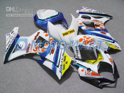Dark Dog ABS Fairing Set K7 - Suzuki GSXR1000 2007-2008