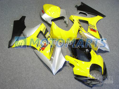 Yellow ABS Fairing Set K7 - Suzuki GSXR1000 2007-2008