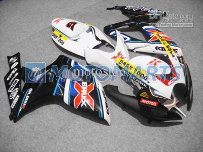 Dark Dog/BRUX ABS Fairing Set K6 - Suzuki GSXR600/750 2006-2007