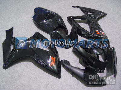 Gloss Black ABS Fairing Set K6 - Suzuki GSXR600/750 2006-2007