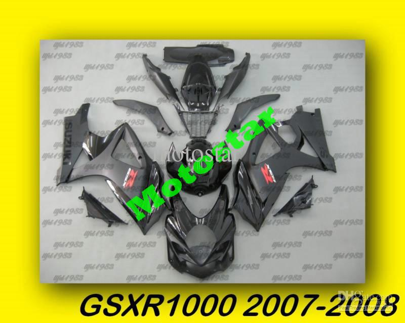 Matte Black ABS Fairing Set K7 - Suzuki GSXR1000 2007-2008