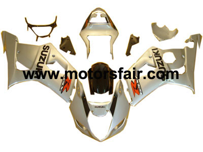 ABS Fairings Suzuki GSXR 1000 2003-2004 ABS Fairing - Silver