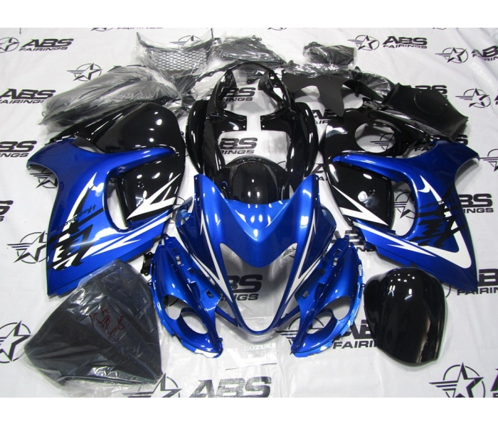 ABS Fairings Blue & Black - 08-12' Hayabusa GSXR1300