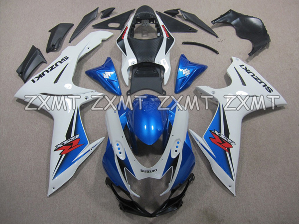 ZXMT Blue & White ABS 25pc Fairing Set - Suzuki GSX-R 600/750 2011