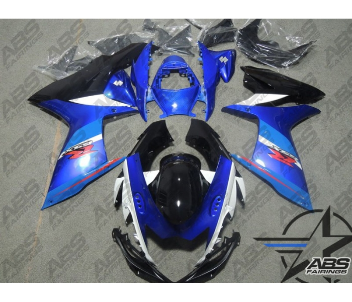 ABS Fairings Special Edition Blue - 11-13' GSXR 600