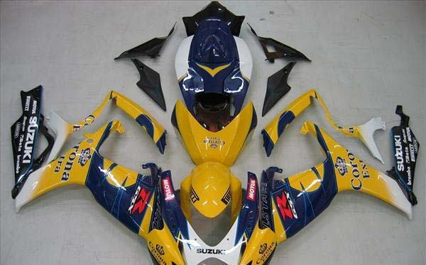 Corona Fairing Set 23pc - Suzuki GSXR 600/750 2006-2007