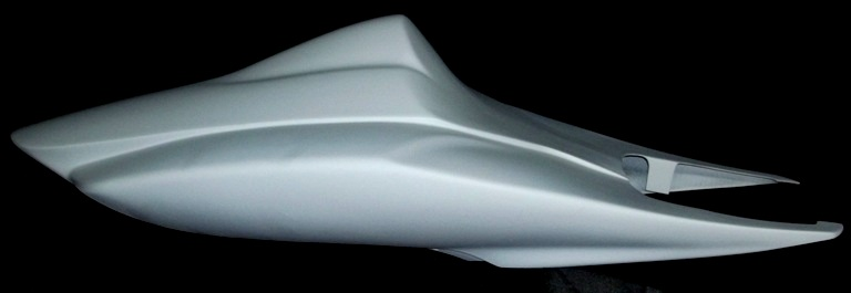 SharkSkinz STREET SOLO TAIL uses stock seat - GSXR750 2006-2007