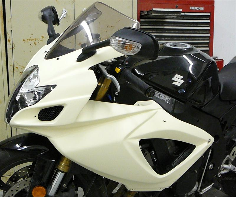 SharkSkinz 1 PIECE STREET UPPER - GSXR600 2006-2007