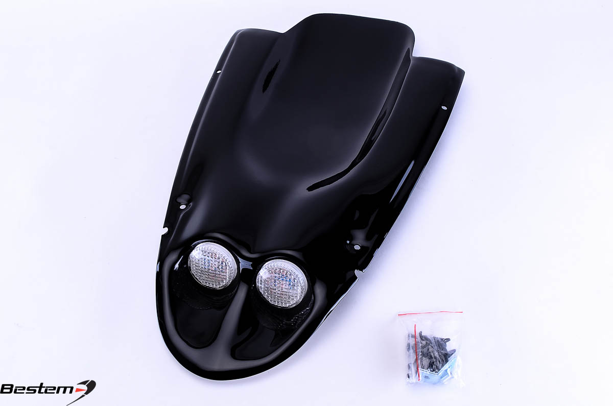 Bestem Suzuki GSXR 600(01-03)/750(00-03)/1000(01-02) Undertail,Black,2 Lights
