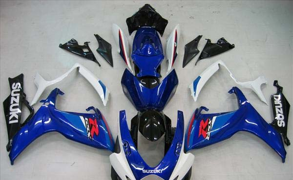 Blue Fairing Set 23pc - Suzuki GSXR 600/750 2006-2007