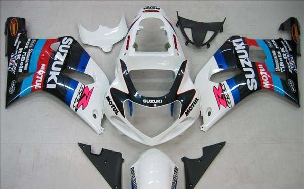 Motul Fairing Set 9pc - Suzuki GSXR 600 2001-2003