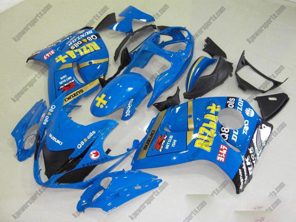 Rizla ABS 24pc Fairing Set - Suzuki GSXR 1300 2008-2013