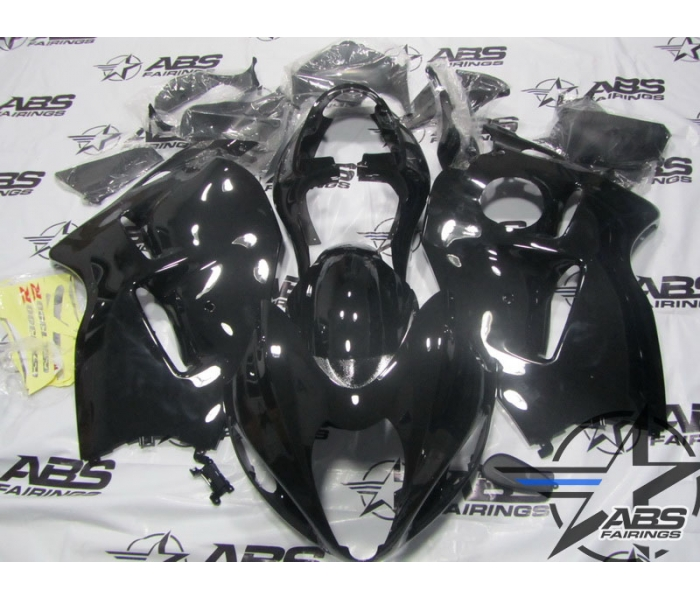 ABS Fairings All Black - 99-07' Hayabusa GSXR1300