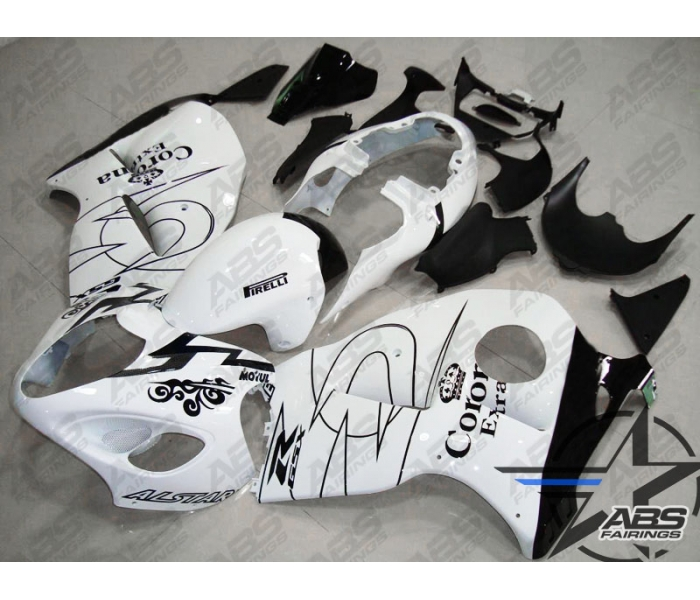 ABS Fairings White Corona Extra Edition - 99-07' Hayabusa GSXR1300