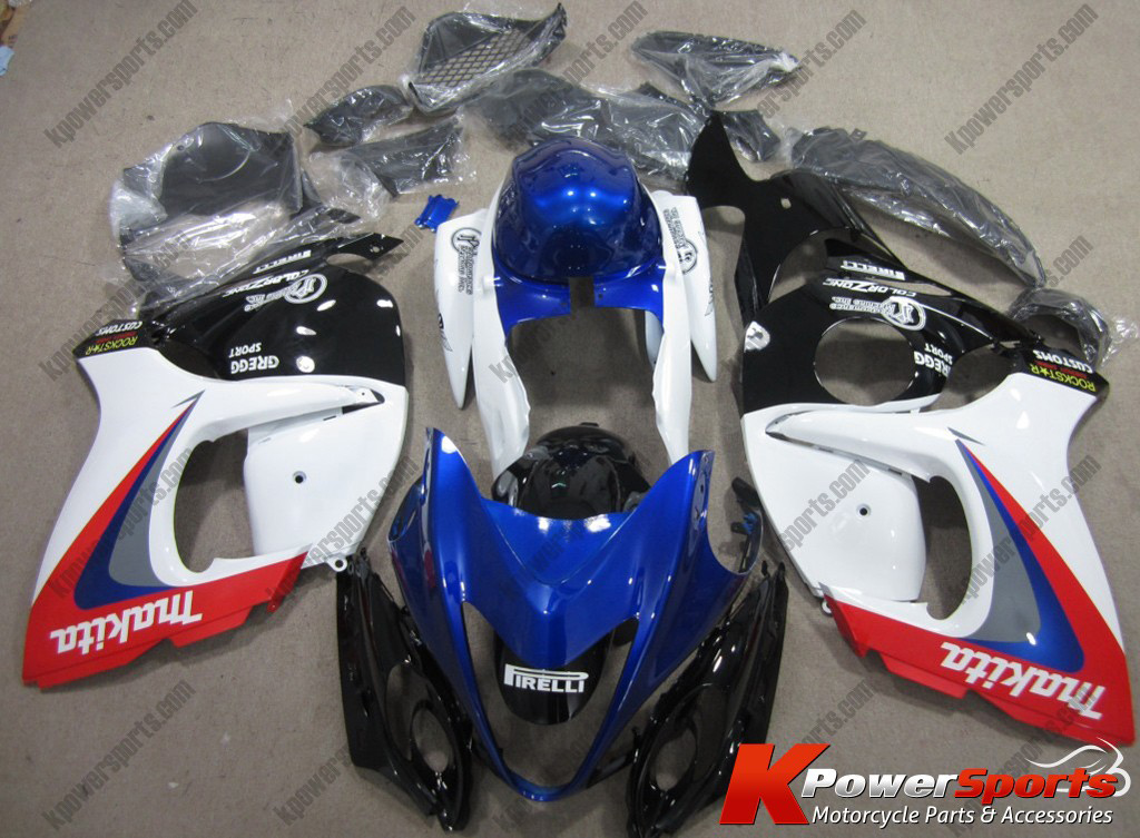 Makita ABS 24pc Fairing Set - Suzuki GSXR 1300 2008-2013