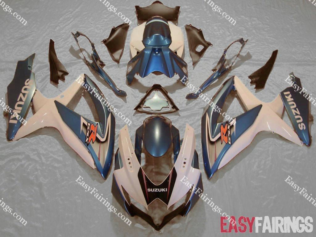 Light Blue Fairing Set 29pc - Suzuki GSXR 600/750 2008-2009
