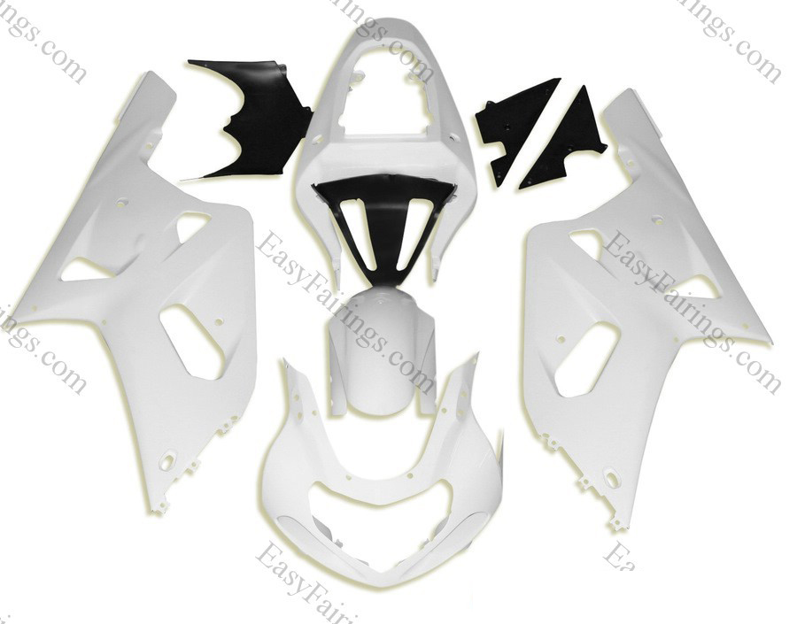 Unpainted ABS Fairing Set 9pc - Suzuki GSXR 600/750 2000-2003