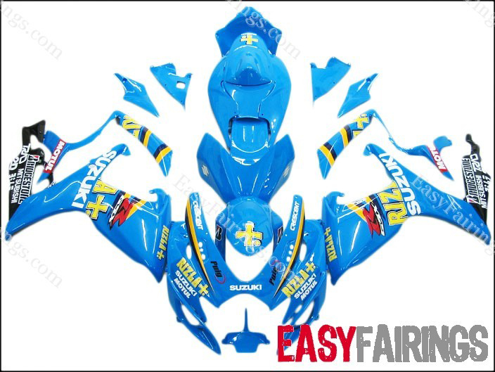Rizla Fairing Set 23pc - Suzuki GSXR 600/750 2006-2007