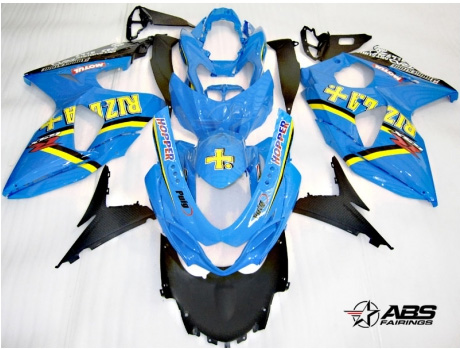 ABS Fairings Classic Rizla 30pc Fairing Set - Suzuki GSXR1000 2009-2013
