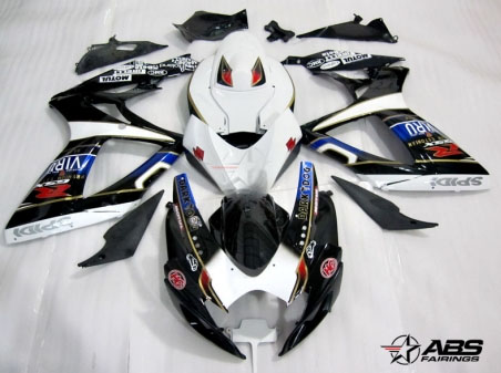 ABS Fairings Dark Dog Racing 24pc Fairing Set - Suzuki GSXR 600/750 2006-2007