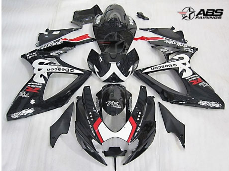 ABS Fairings Relentless 24pc Fairing Set - Suzuki GSXR 600/750 2006-2007