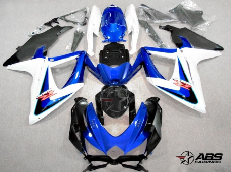 ABS Fairings OEM Style Blue 30pc Fairing Set - Suzuki GSXR 600/750 2008-2010