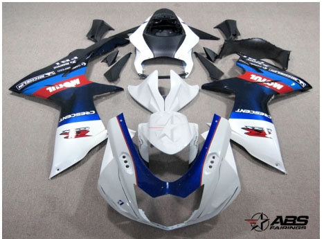 ABS Fairings Motul Racing 26pc Fairing Set - Suzuki GSXR 600/750 2011-2012