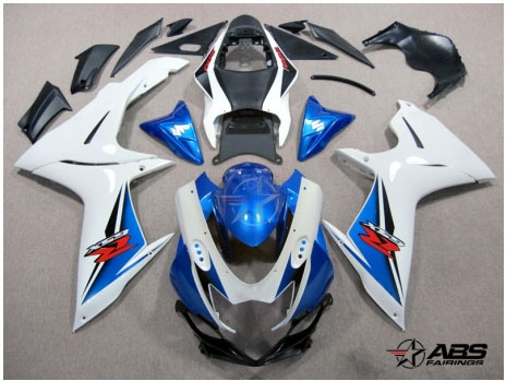 ABS Fairings OEM Style Blue 26pc Fairing Set - Suzuki GSXR 600/750 2011-2012