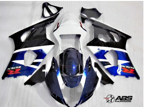 ABS Fairings OEM Style Blue & Black 9pc Fairing Set - Suzuki GSXR1000 2003-2004