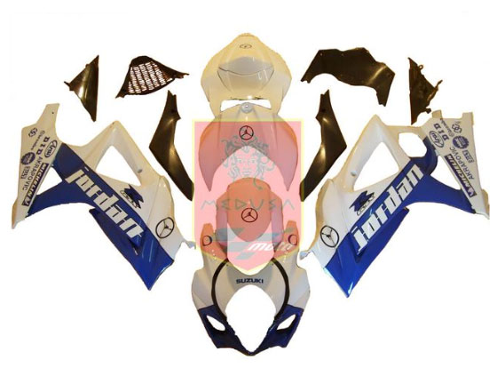 Jordan ABS Fairing Set 25pc - Suzuki GSXR1000 2007-2008