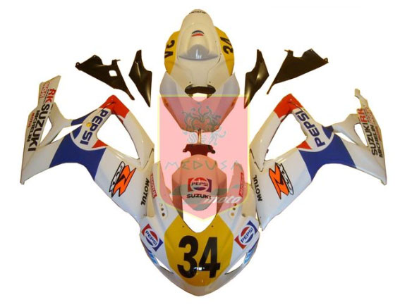 Pepsi ABS Fairing Set 23pc - Suzuki GSXR600/750 2006-2007