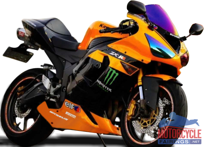 Orange Monster Logo Abs Fairings Orange Monster