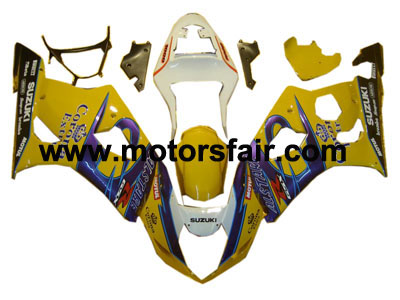 Suzuki GSXR 1000 2003-2004 ABS Fairing - Yellow Corona