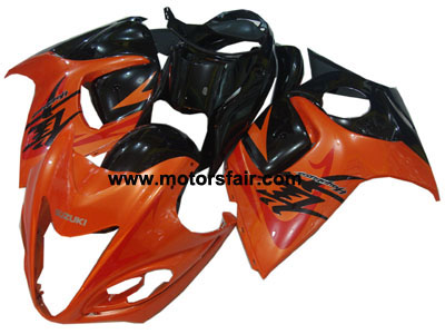 Suzuki GSXR 1300 Hayabusa 2008-2009 ABS Fairing - Red/Black