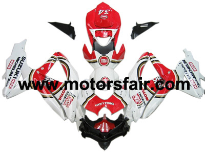 Suzuki GSXR 600/750 2008-2009 ABS Fairing - Lucky Strike