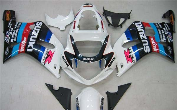 Motul Fairing Set 9pc - Suzuki GSXR 750 2000-2003