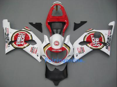 Suzuki GSXR 1000 2000-2002 ABS Fairing Set - Lucky Strike