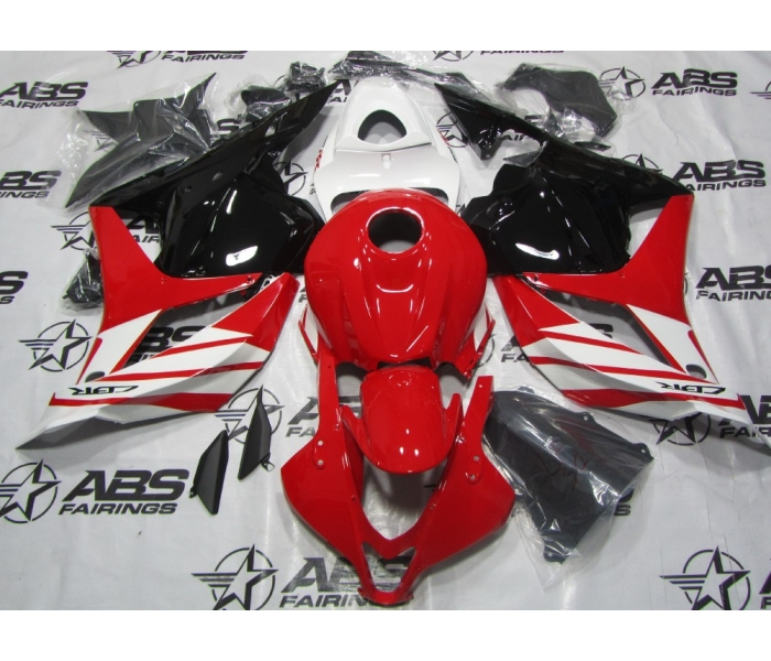 ABS Fairings Red & White - 09-12' CBR600RR