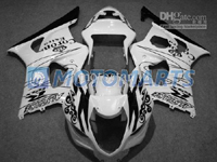 Black/White Corona ABS Fairing Set K3 - Suzuki GSXR1000 2003-2004