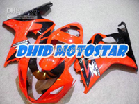 Orange/Black ABS Fairing Set K4 - Suzuki GSXR600/750 2004-2005