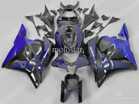 Blue Flame ABS Fairing Set - Honda CBR 600RR 2009-2010 **NO AFTERMARKET HONDA LOGOS**