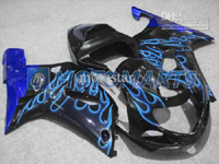 Blue Flame ABS Fairing Set K2 - Suzuki GSXR1000 2000-2002