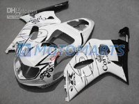 Black/White Corona ABS Fairing Set K2 - Suzuki GSXR1000 2000-2002